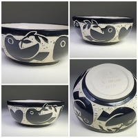 doves bowl - stoneware