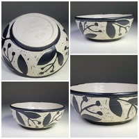 cherry Bowl - stoneware