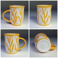 Corn Plant Yellow - English Porcelain