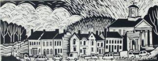 woodcut of cynthiana ky
