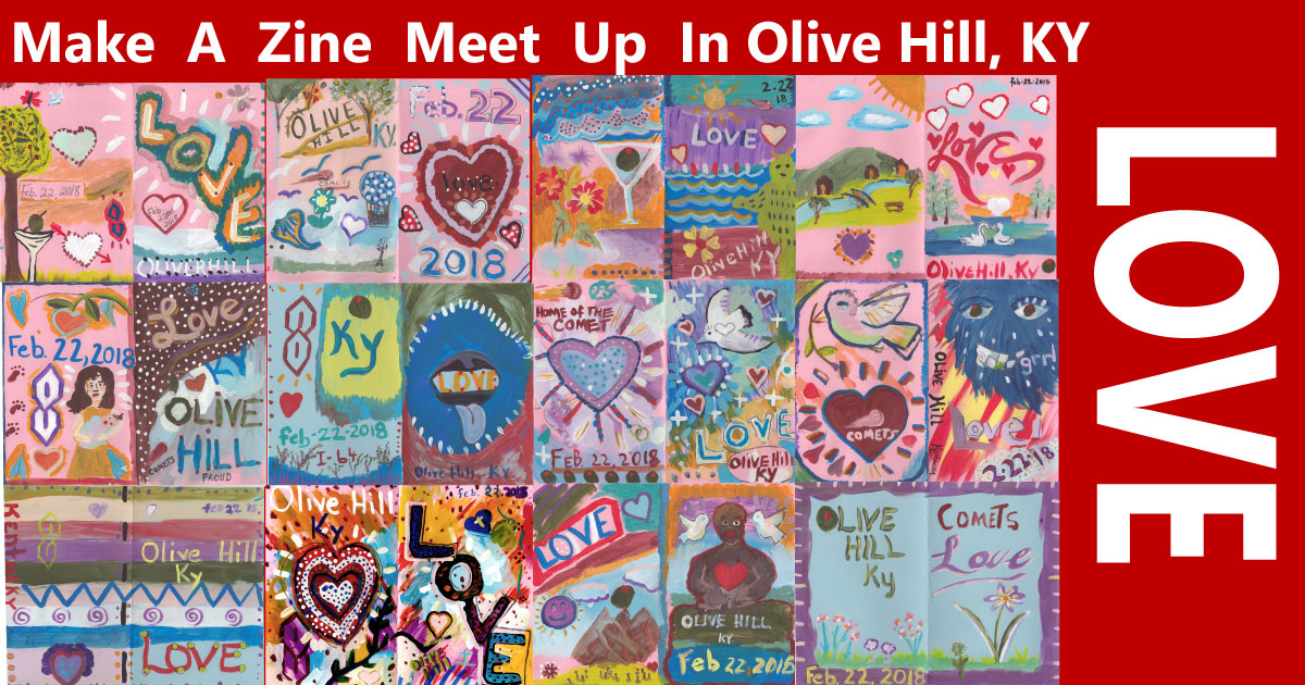 cover banner artzines love olive hill