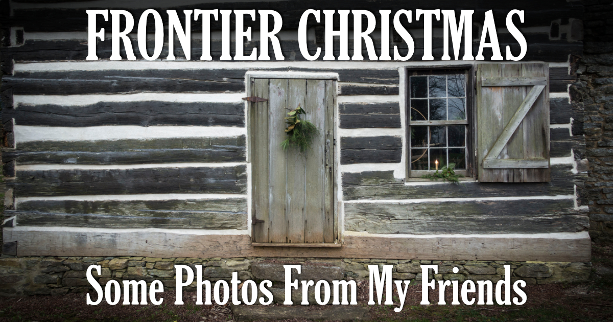 log cabin background frontier christmas old washington