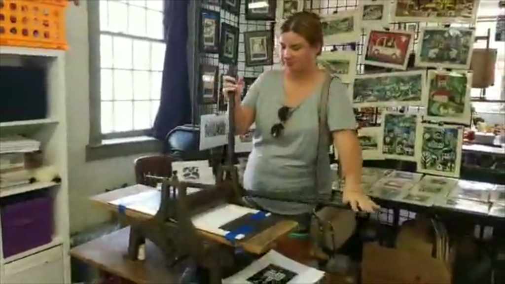 printmaking at old washington kentucky
